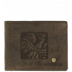 Pánská peněženka PETERSON hnědá