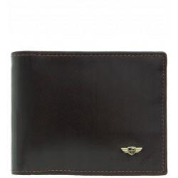 Pánská kožená peněženka Peterson RFID hnědá