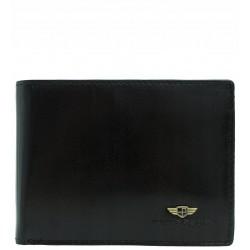 Pánská kožená peněženka Peterson RFID černá