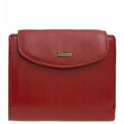 Dámská peněženka Peterson přírodní kůže červená