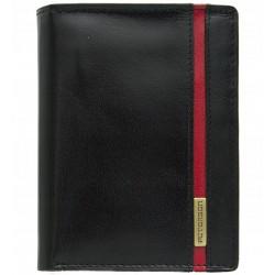 Pánská kožená peněženka Peterson černá