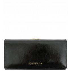 Dámská kožená peněženka Peterson černá 2