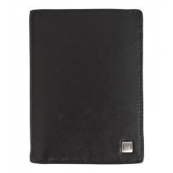 Pánská kožená peněženka Wojewodzic černá