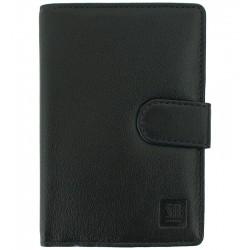 Dámská kožená peněženka Słoń Torbalski černá