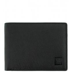 Pánská kožená peněženka Słoń Torbalski černá