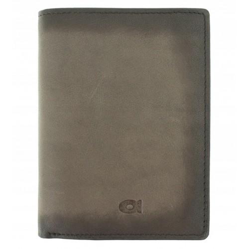 Pánská kožená peněženka DAAG Alive šedá