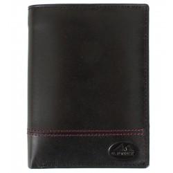 Pánská kožená peněženka El Forrest černá