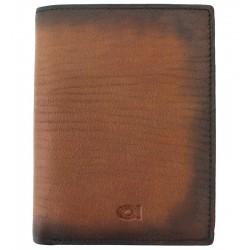 Pánská kožená peněženka DAAG Alive koňak