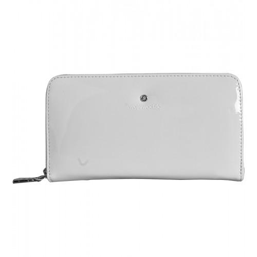 Dámská kožená peněženka Wojewodzic bílá