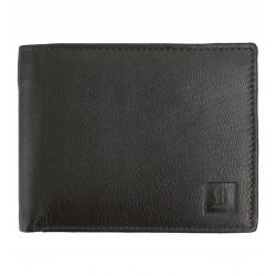 Pánská kožená peněženka Słoń Torbalski - hnědá