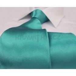Jednobarevná SLIM kravata (světle modrá2)