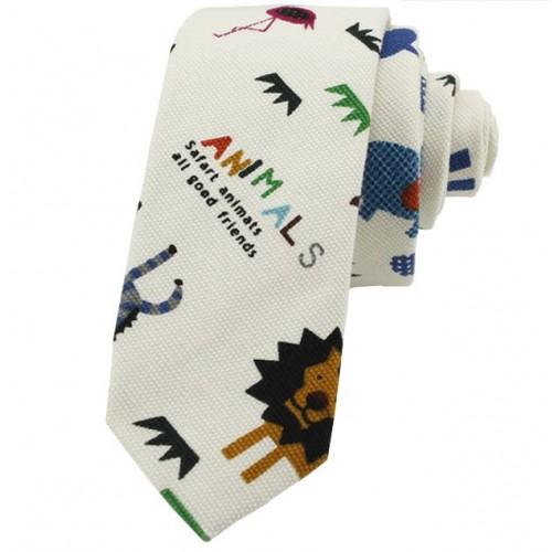 Kravata MARROM - safari