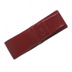 Kožená etue na psací potřeby El Forrest - červená
