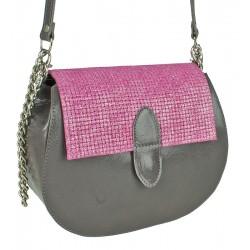 Malá kožená kabelka Słon Torbalski Charlotte EXCLUSIVE vzor 1