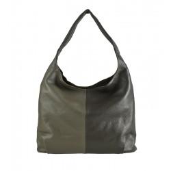 Velká kožená kabelka vzor 01