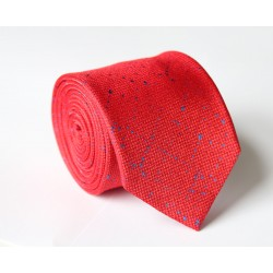 Červená kravata ANGELO di MONTI ADM-95