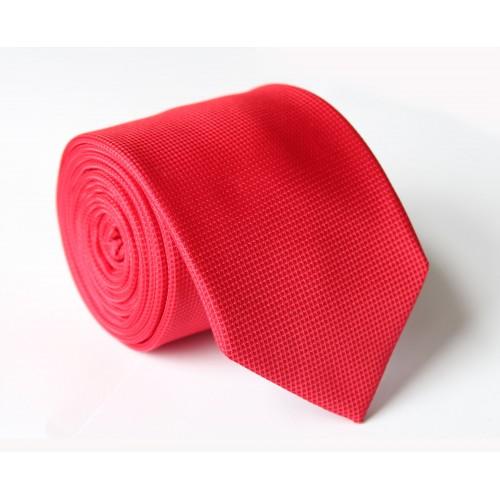 Červená kravata ANGELO di MONTI ADM-96
