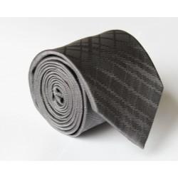 Šedá kravata ANGELO di MONTI ADM-100