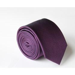 Fialová kravata ANGELO di MONTI ADM-101