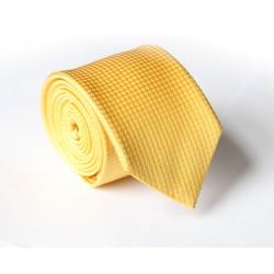 Žlutá kravata ANGELO di MONTI ADM-105