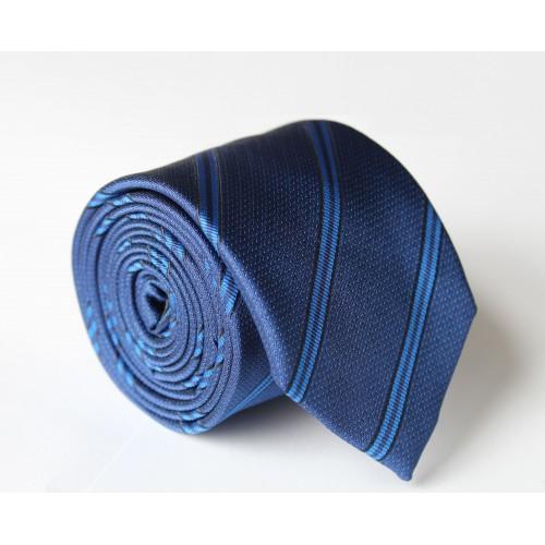 Modrá kravata ANGELO di MONTI ADM-106