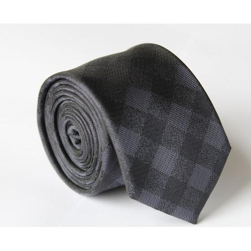Černá kravata ANGELO di MONTI ADM-110