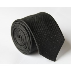 Čierna kravata ANGELO di MONTI ADM-111