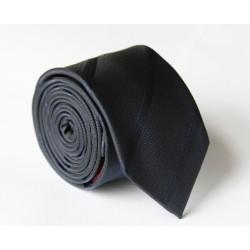 Černá kravata ANGELO di MONTI ADM-112