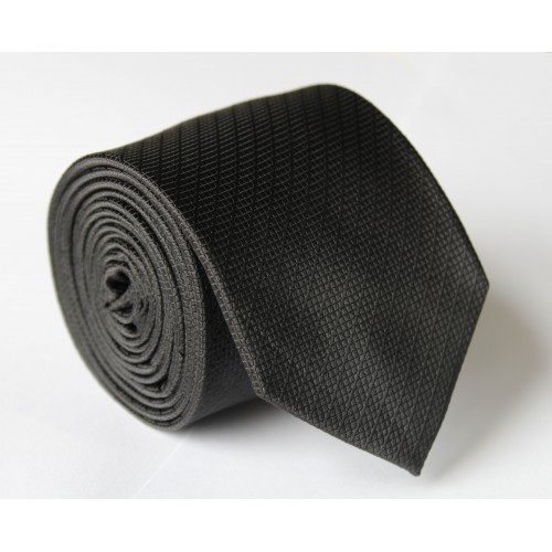 Černá kravata ANGELO di MONTI ADM-113