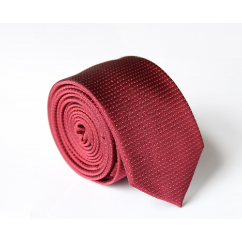 Vínová kravata ANGELO di MONTI ADM-115