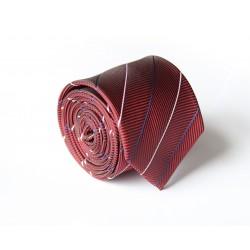 Vínová kravata ANGELO di MONTI ADM-117