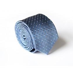 Modrá kravata ANGELO di MONTI ADM-124