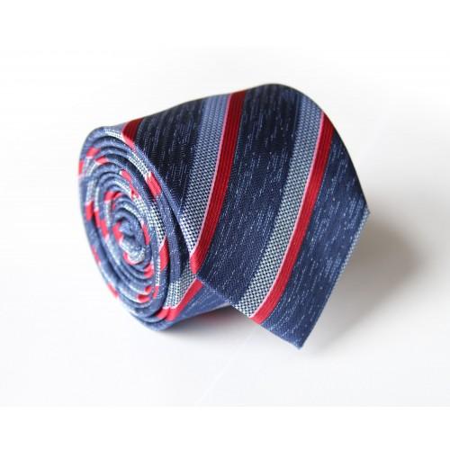 Modrá kravata ANGELO di MONTI ADM-125