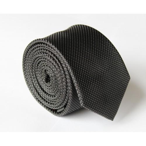 Černá kravata ANGELO di MONTI ADM-128