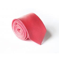 Ružovo - červená kravata ANGELO di MONTI ADM-130