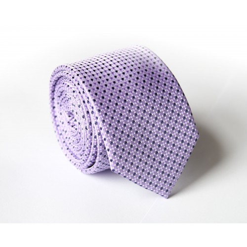 Fialová kravata ANGELO di MONTI ADM-131