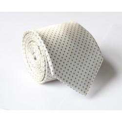 Krémová kravata ANGELO di MONTI ADM-135