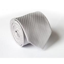 Šedá kravata ANGELO di MONTI ADM-136