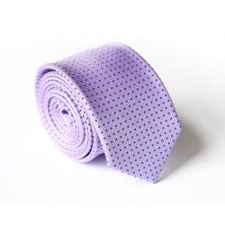 Fialová kravata ANGELO di MONTI ADM-138