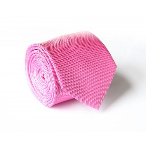 Růžová kravata ANGELO di MONTI ADM-139