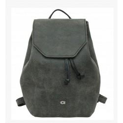 Dámský kožený batoh DAAG Fanky - černý