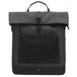 Kožený batoh DAAG Happy club - černý