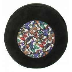 Kožená kabelka SŁOŃ TORBALSKI - ROUND Holy