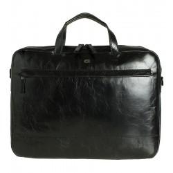 Pánská kožená taška DAAG Albedo 2 - černá
