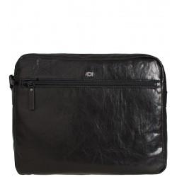 Pánská kožená taška DAAG Albedo 4 - černá