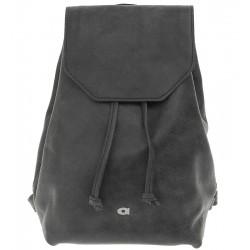 Dámský kožený batoh DAAG Fanky Go - černý