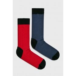 Pánské ponožky Medicine 2 páry - červeno/modro/černé 39/42