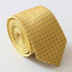 Žlutá kravata ANGELO di MONTI ADM-140
