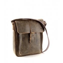 Kožená taška Daag JAZZY 37 - hnědá