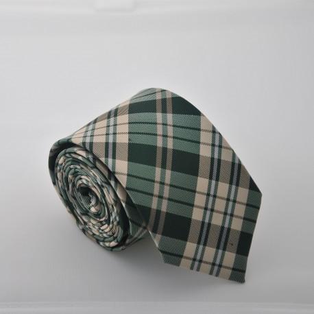 Zelená kravata ANGELO di MONTI